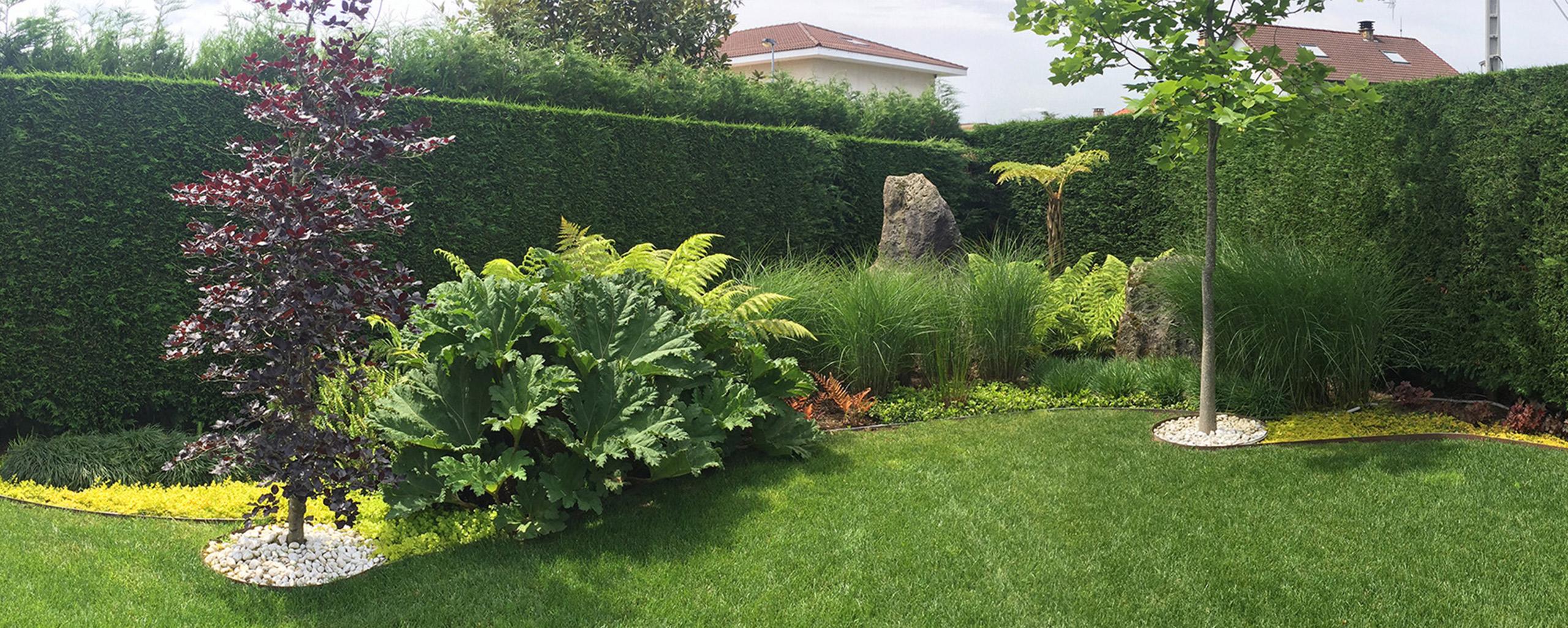 Jardineria en residencia particular